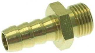 095529 RUBBER HOLDER UNION 1/8' (BRASS)
